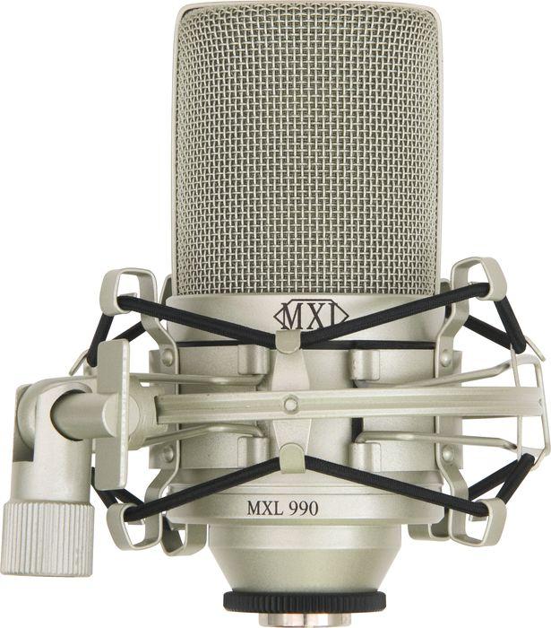 Mxl Mxl 990 Condenser Microphone With Shockmount